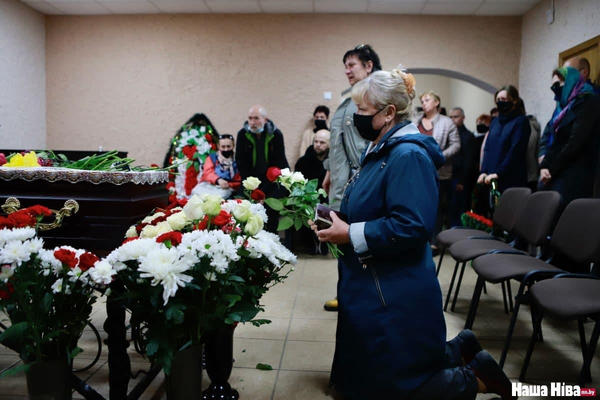 Прощание с Витольдом Ашурком / Фото: Наша Нива