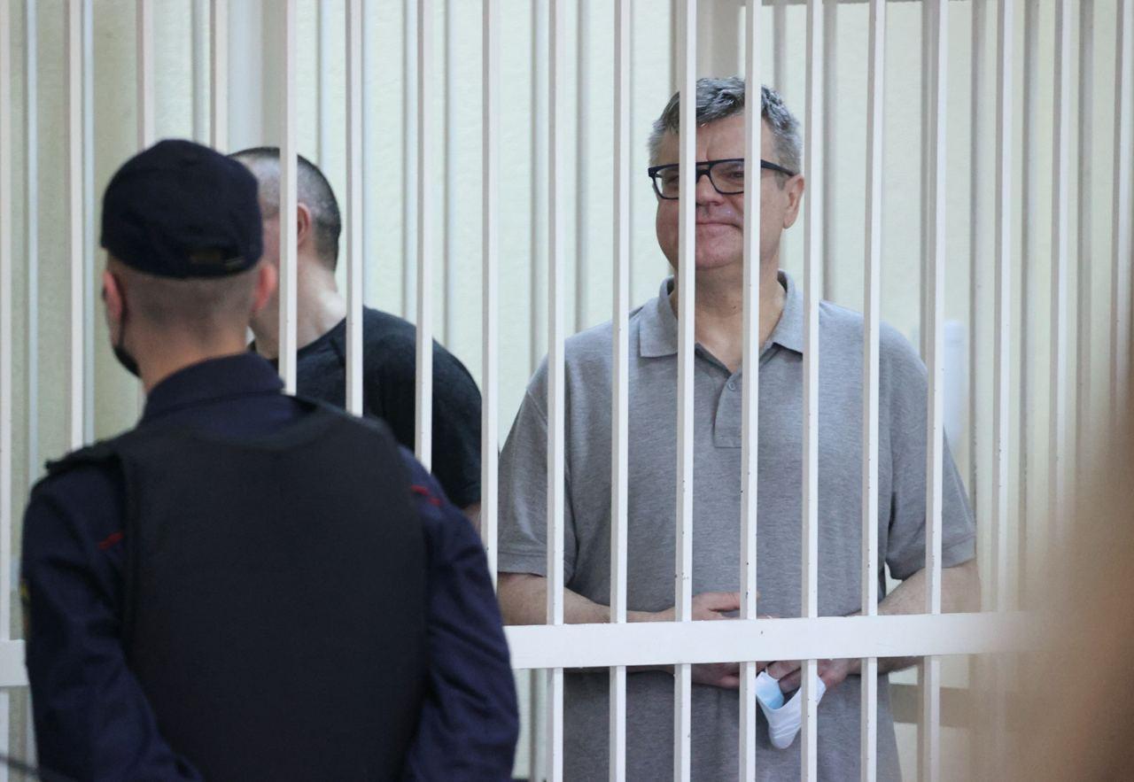 Виктор Бабарико сегодня на суде. Фото: Reuters