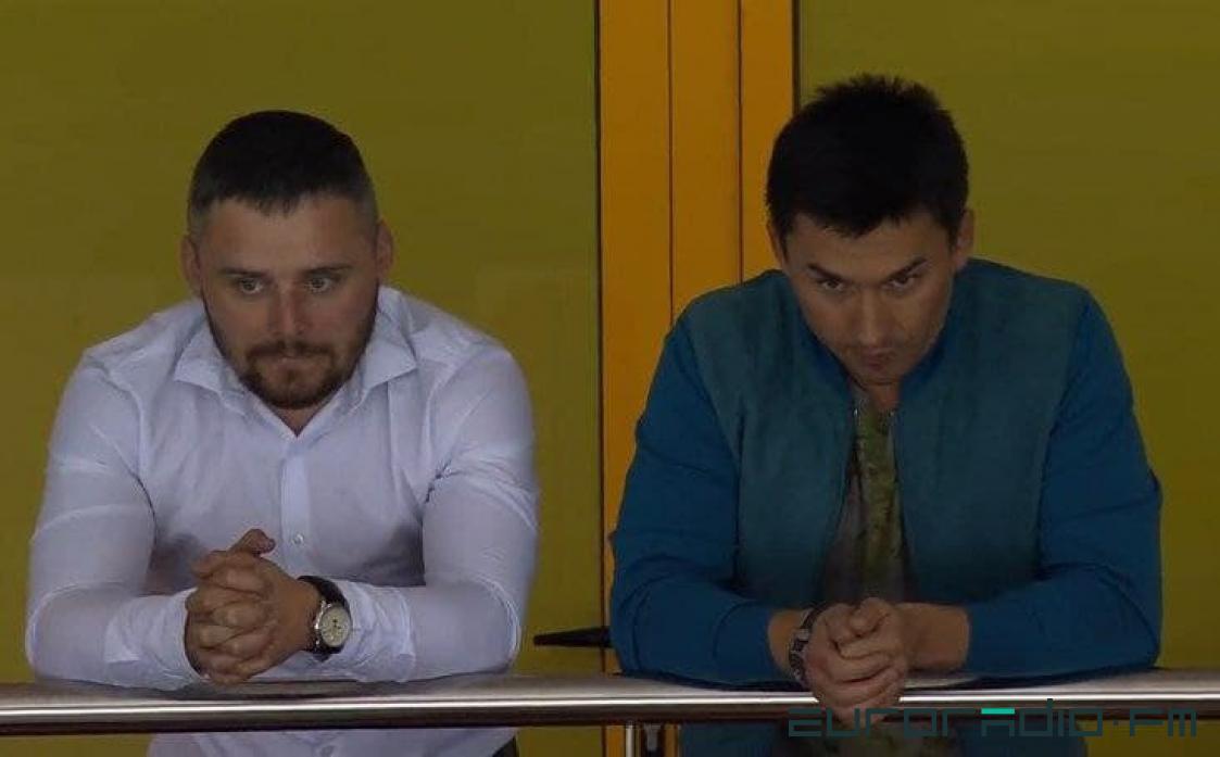 Слева направо: Евгений Мазуро, Дмитрий Басков. Фото: «Еврорадио»