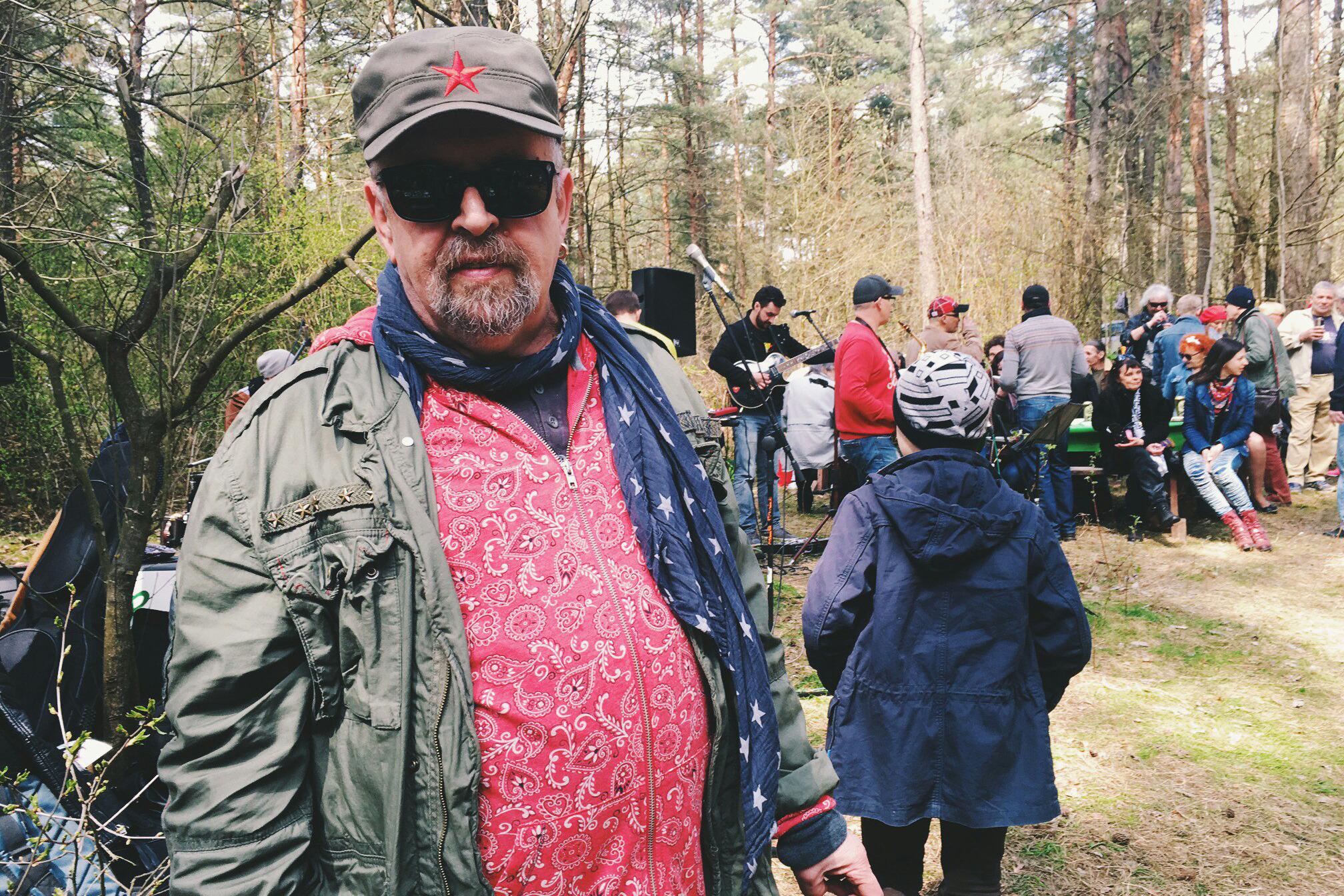 Владимир Цеслер на выездной вечеринке на свой день рождения, 2016 год