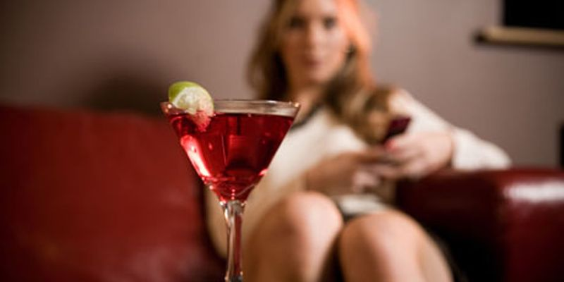 Woman and alcohol 1