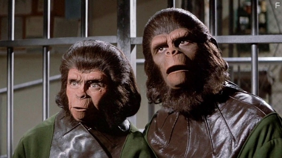 F42004 begstvo s planety obezyan escape from the planet of the apes 1971 original