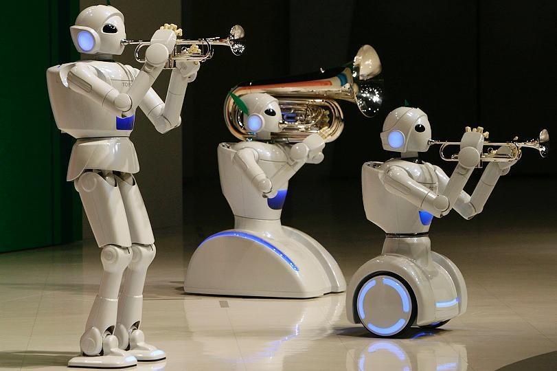 Roboter musik