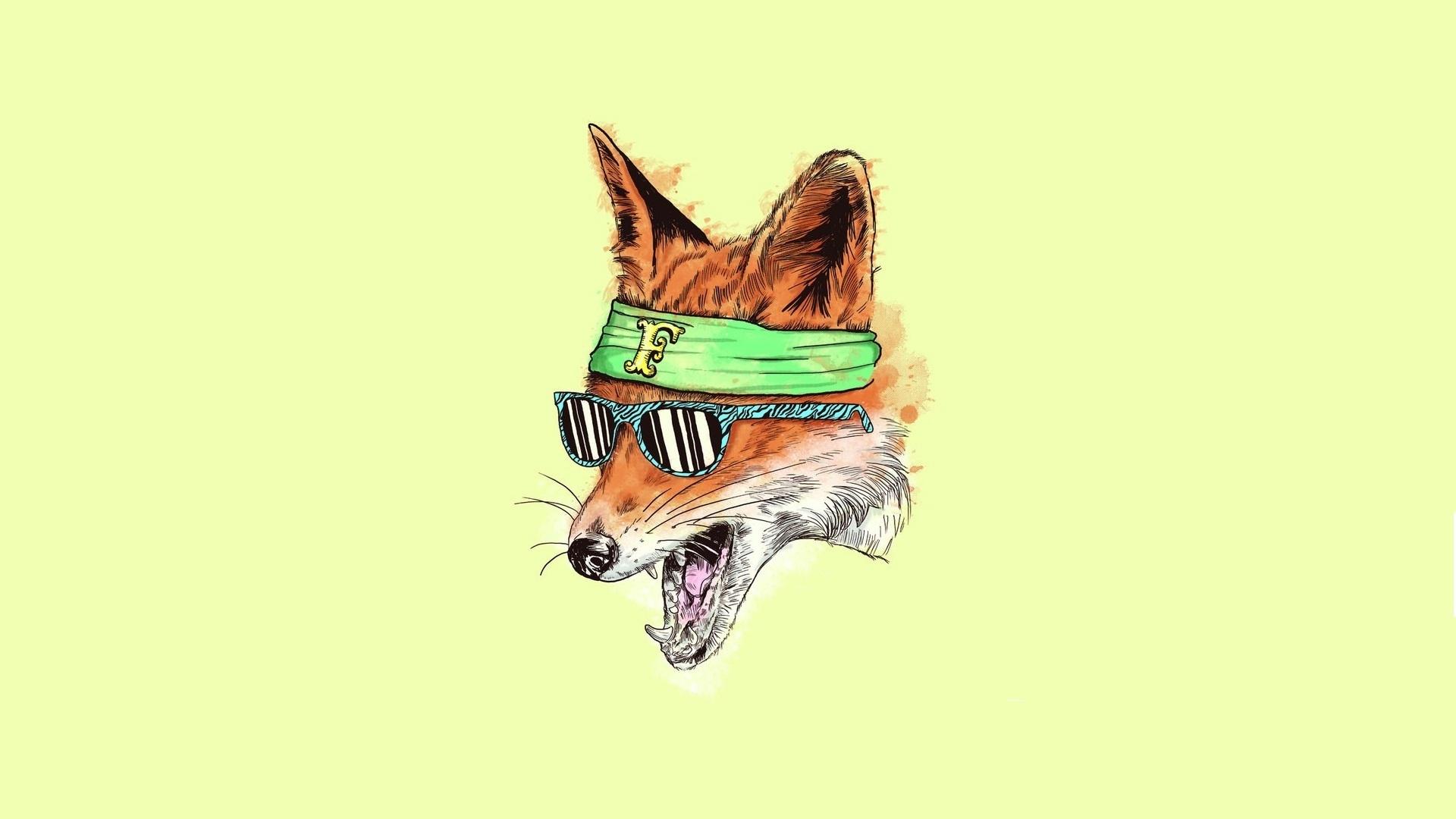 Minimalizm yellow fox lisa