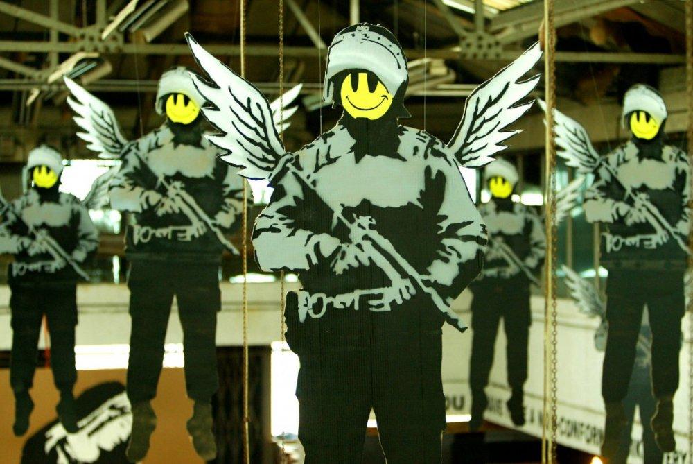 Art terrorizm ot benksi 1