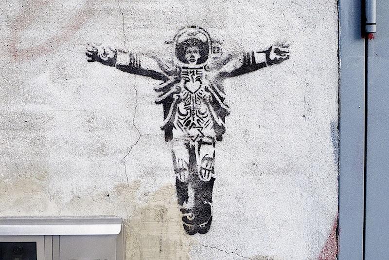 The new apostle graffiti
