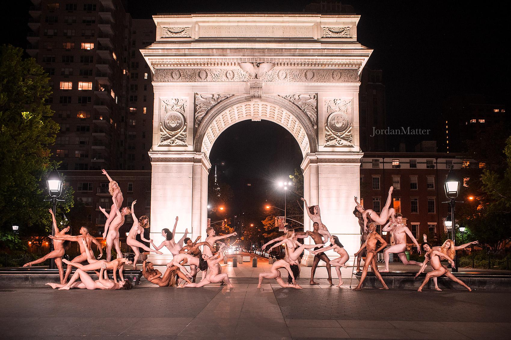 Dancers after dark washington square group
