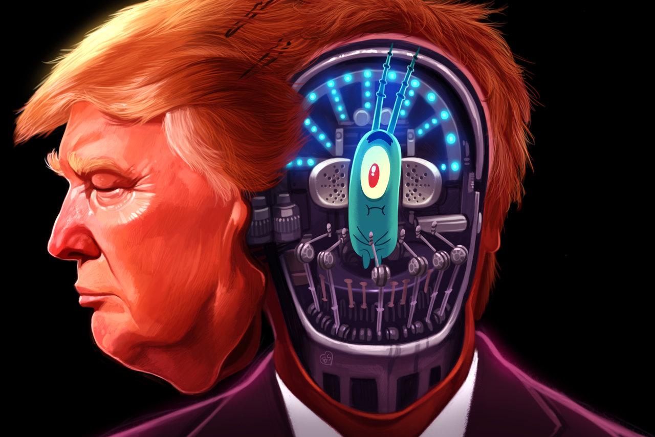 Trump by jdelgado dahedop