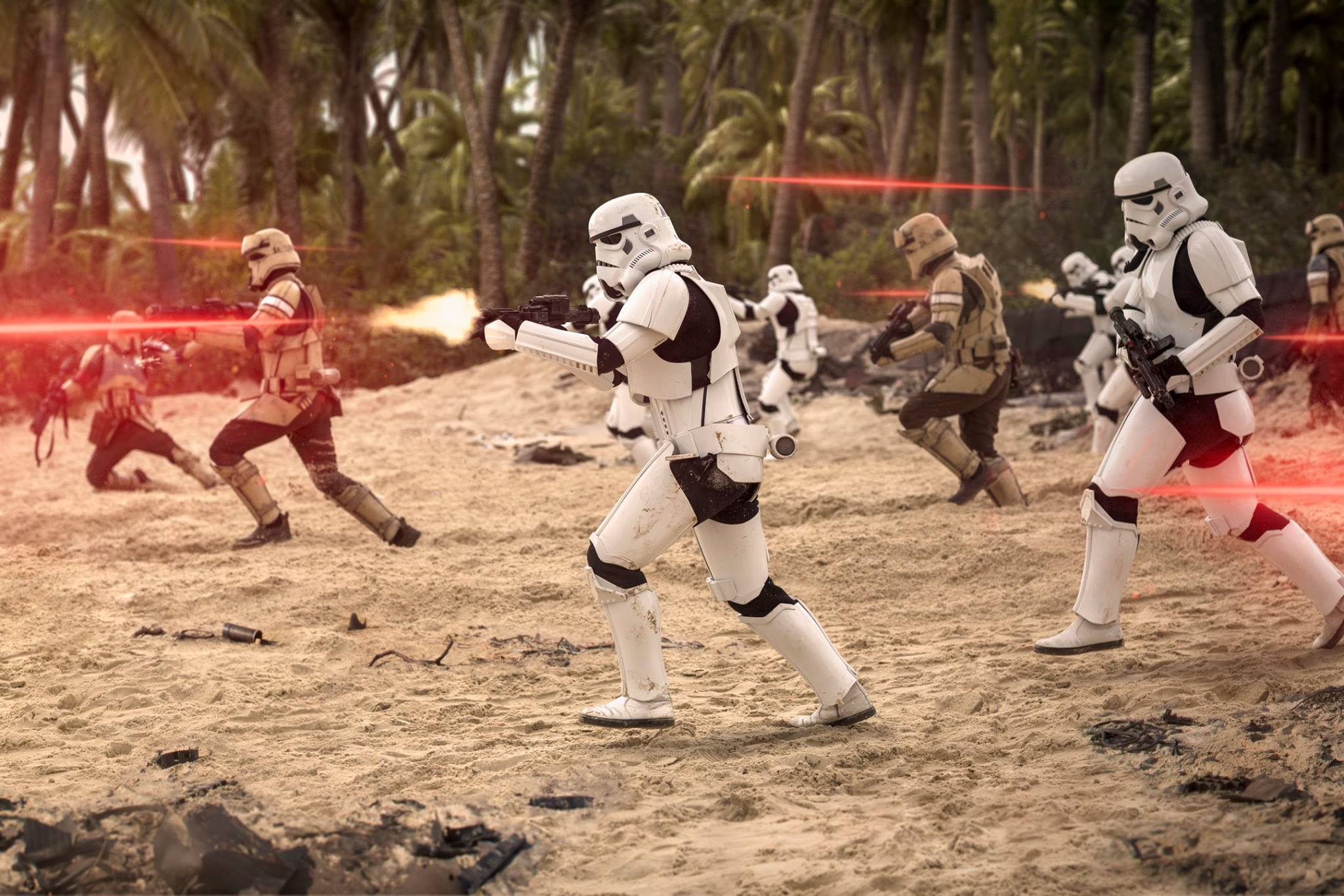 Rogue one troopers