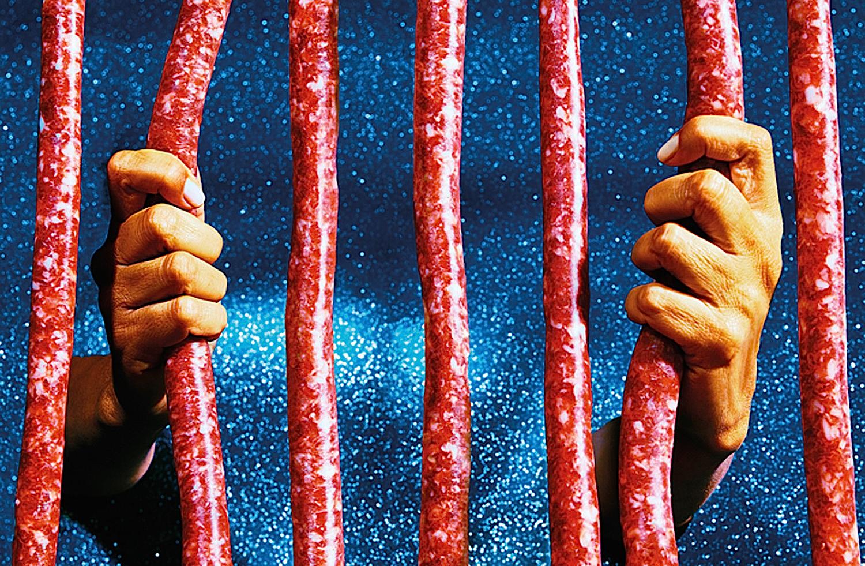 Meat sausageprison