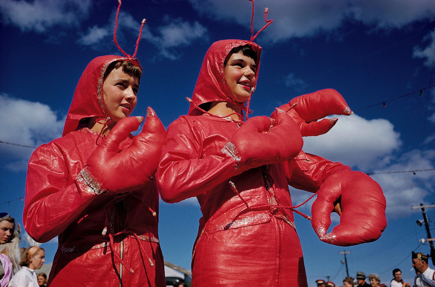 Rock lobster a quirky luis marden portrait from the national geographic archives shows lobsterettes from a rockland maine festival in 1952 8774ce28b6ef4a4b