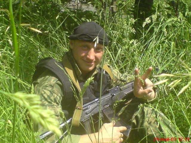 Фото: профиль Виталия Тышкевича во«ВКонтакте». омоновцем