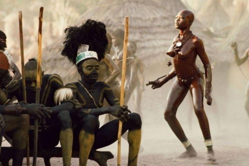 В африке человек секс