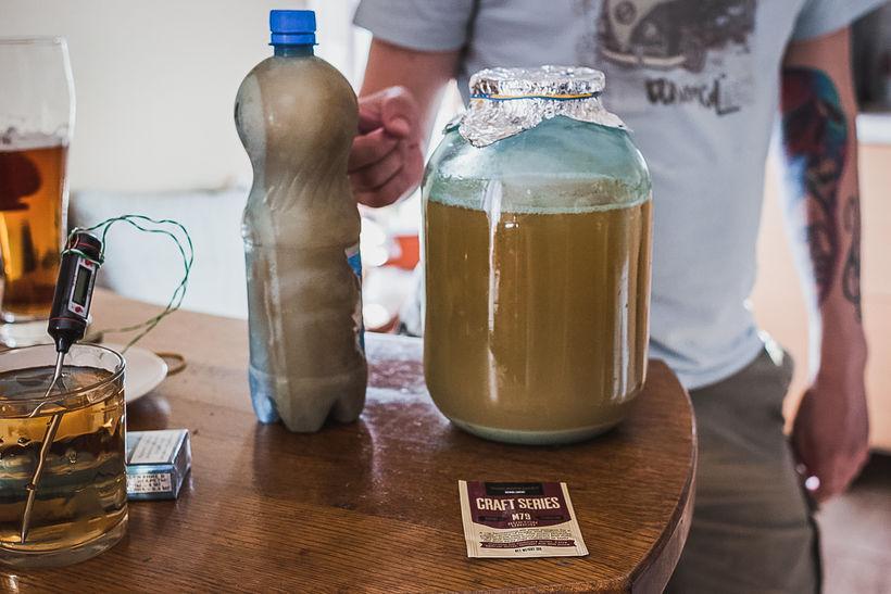 Пиво в домашних условиях сделать 354