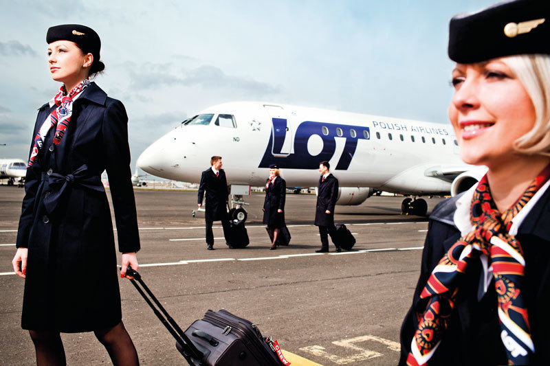 LOT Polish Airlines, Польша