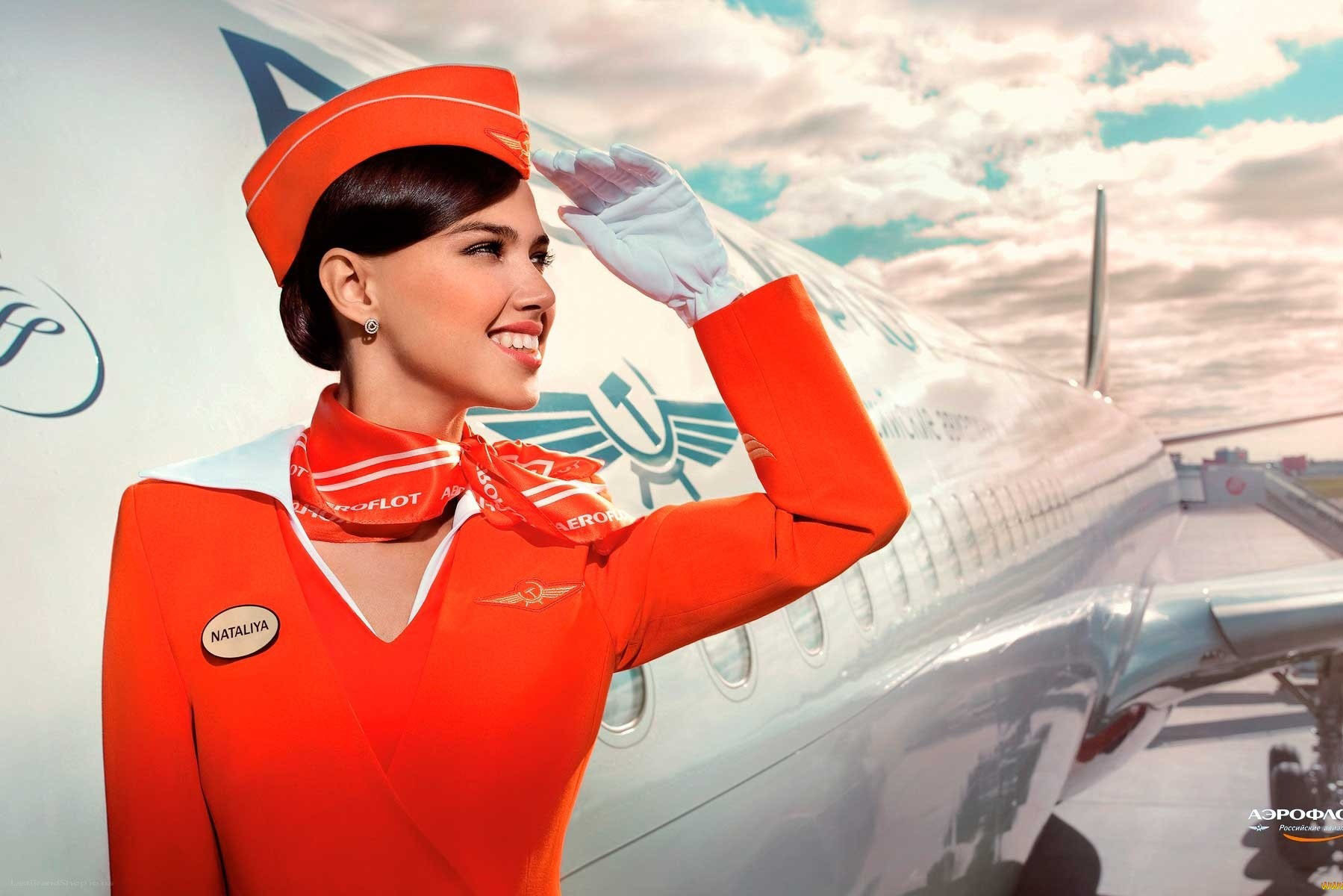 Секс со стюардессой аэрофлот