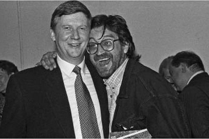 Анатолий Чубайс и Юрий Шевчук, 1994 год