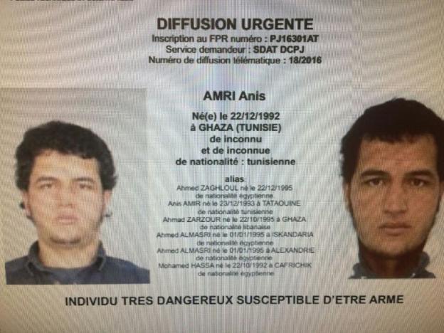 ВМВД Италии подтвердили смерть подозреваемого вберлинском теракте