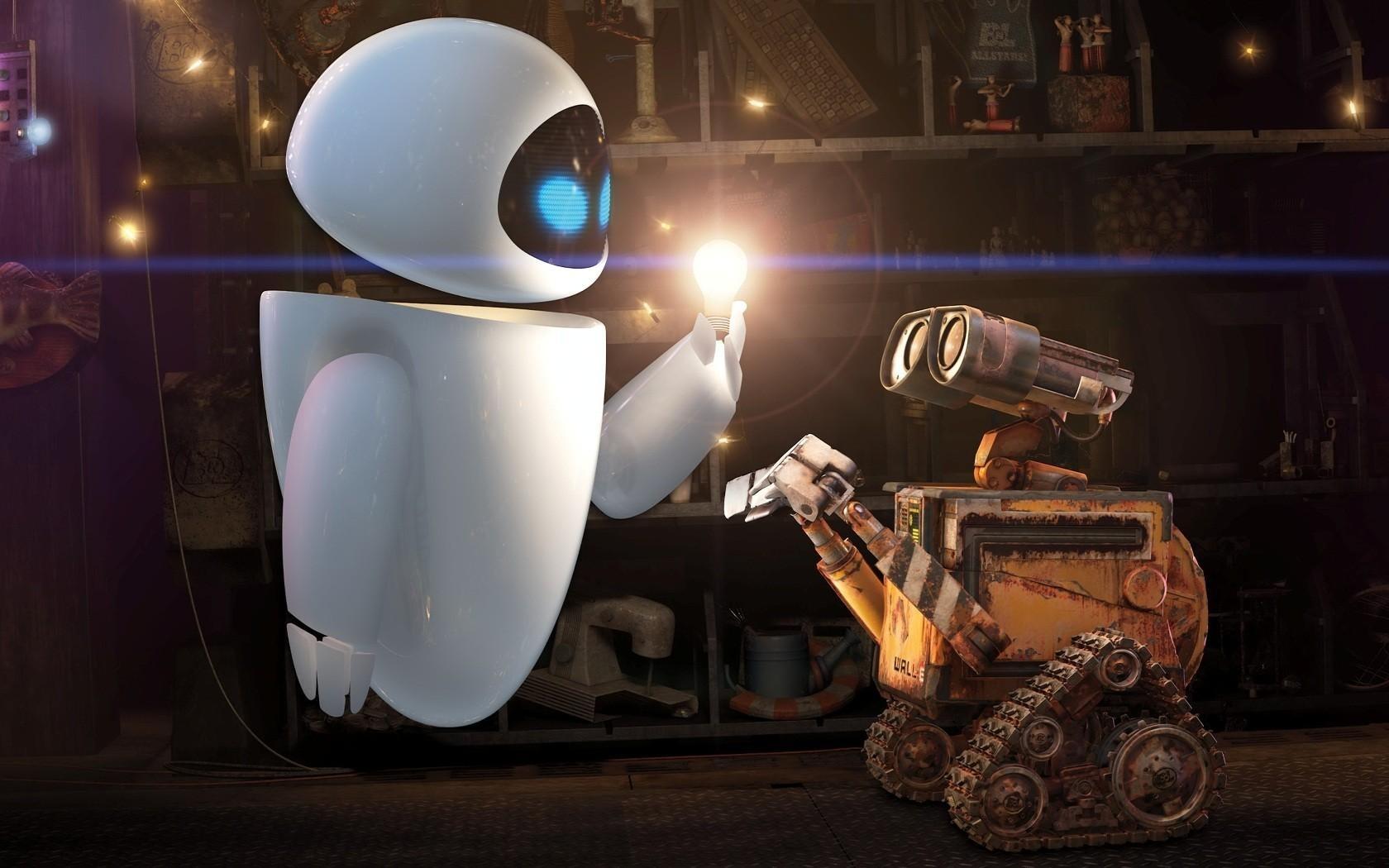 Робот добрый картинка