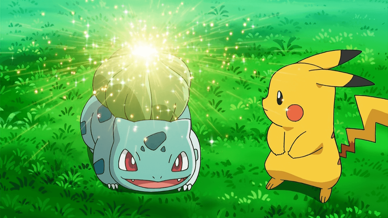 Ash bulbasaur solarbeam