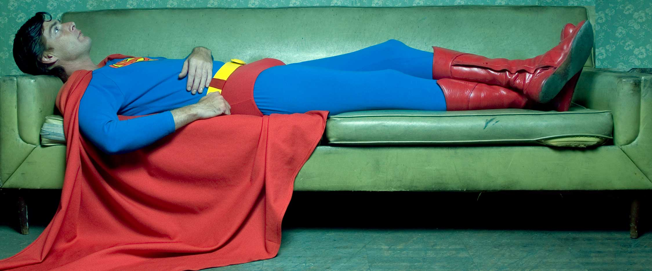Superman couch